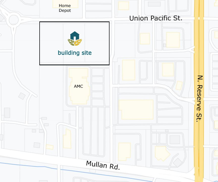 Partners Hope Foundation building site map location